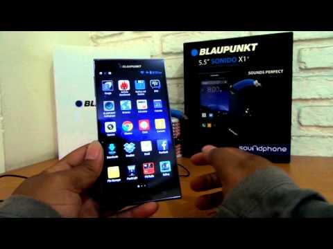 Antarmuka Blaupunkt Soundphone Sonido X1+