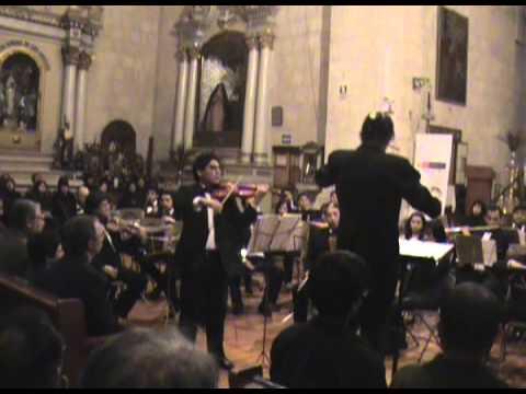 Concierto para violín Nº 1 en D mayor de Javier Vizcarra - Estreno mundial