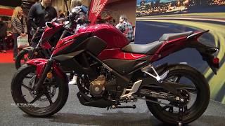 6. 2018 Honda CB300 F - Walkaround - 2018 Montreal Motocycle Show