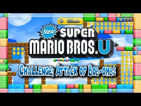 New Super Mario Bros. U Challenge: Attack of Bob-Ombs