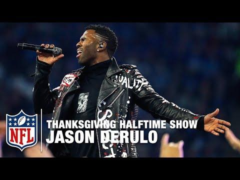 Video: Jason Derulo Performs the Thanksgiving Halftime Show! | Vikings vs. Lions | NFL 2017