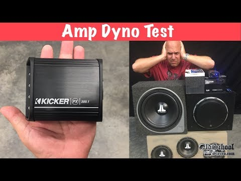 Palm Sized Power? Kicker PX200.1 200 Watt Monoblock Amp Dyno Test