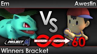 IaB 60 VoDs up on youtube, and with it my nutty set vs the Legened, Awestin! I take his second stock in game one a very… interesting way :)
