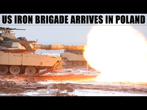 US Iron Brigade arrives in Poland for Atlantic Resolve 2017