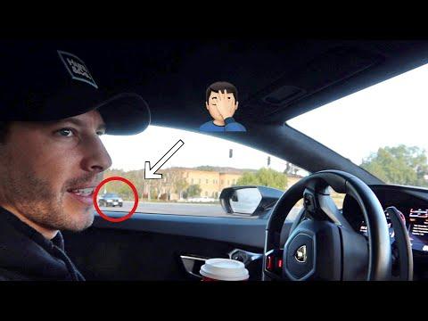Cops Won't Leave My Lamborghini Alone...