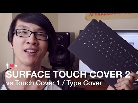 Touch Cover - Typing on the Touch Cover 2 vs the original Touch & Type Covers! Click the 'Like' button and subscribe if you found this video helpful! TYPE COVER 2 REVIEW: ...