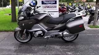 7. Used 2010 BMW R1200RT Grey at Euro Cycles of Tampa Bay