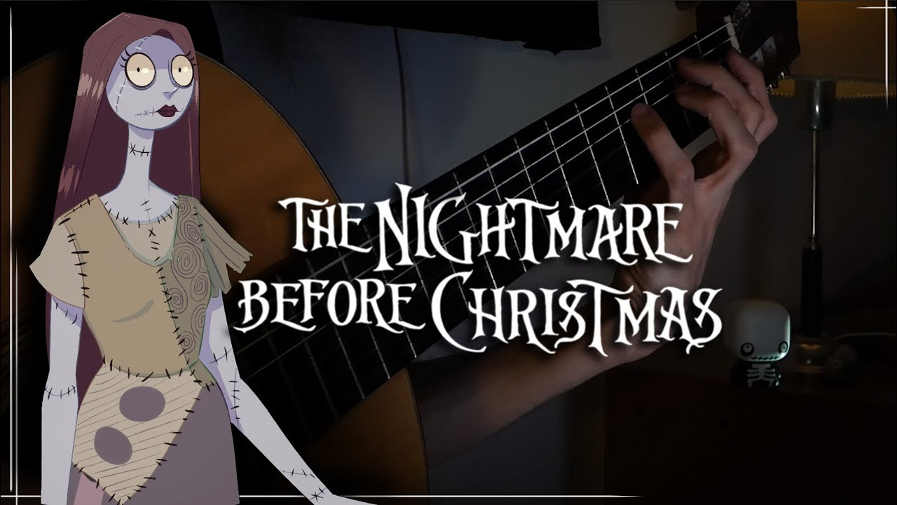 Sally's Song – The Nightmare Before Christmas (Classical Guitar Cover)