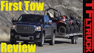 2017 GMC Sierra HD Denali First Tow Review: How Does the New Duramax Tow? by The Fast Lane Truck