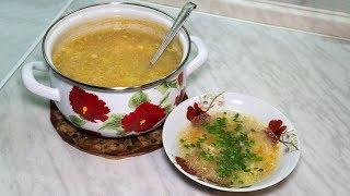 Суп Затируха пошаговый рецепт с куриным мясом