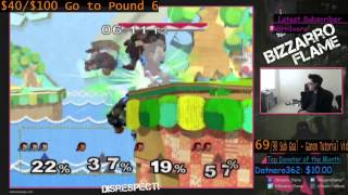 Bizzarro Flame Defeats Three Level 9 (Handicap 9) Ganondorf CPUs in 3 vs 1 Teams!