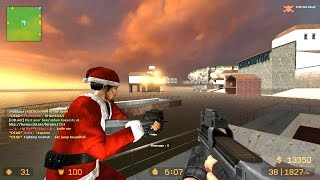 Counter Strike Source Zombie Escape mod online gameplay on ze_sorrento_escape_v5 map