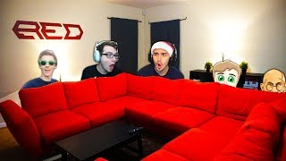 RED HOUSE MAKEOVER 2018!! - (NEW GAMING SETUP)