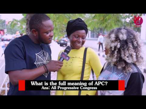 What Is The Full Meaning Of APC?  DelarueTV | Street'ish