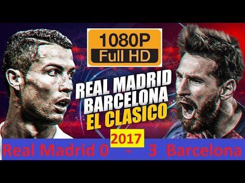 Real Madrid vs Barcelona 0-3   All Goals & Highlights  Dec 23rd 2017 Santiago Bernabéu raped 2017