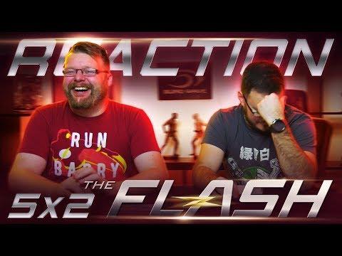 "The Flash 5x2 REACTION!! ""Blocked"""