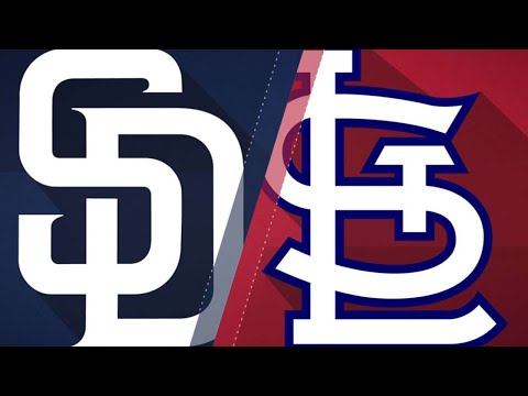Padres use 5 relievers to defeat Cardinals: 6/12/18