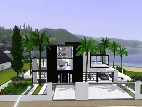 Villa grundriss sims 3  Villa bauen O: Sims 3