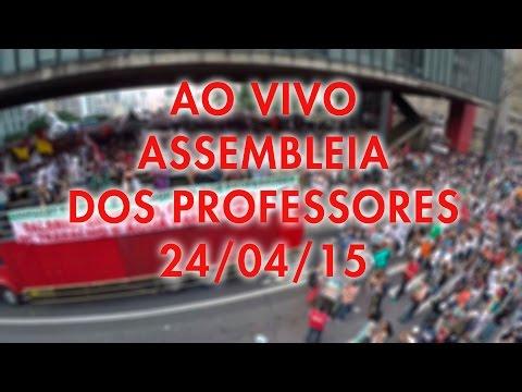 Assembleia dos Professores 24/04/15