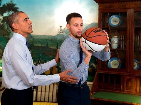 Steph Curry NBA Superstar #ThanksObama