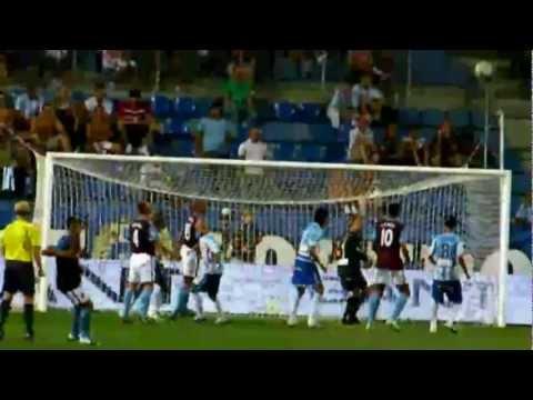 Málaga 1 - 0 Aston Villa (Copa de la Paz 2009)