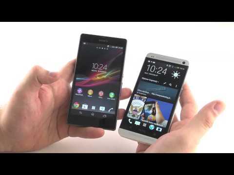 HTC One vs Sony Xperia Z - porównanie wyglądu i wykonania