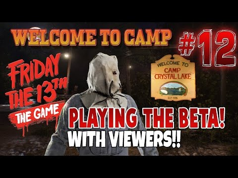 FRIDAY THE 13TH: THE GAME | Scariest Multiplayer Game Ever! | LIVE