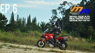 9. 2013 Ducati Multistrada 1200s First Ride Review -- Ep. 6