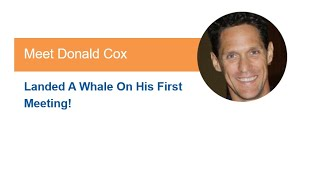 B2B Marketing Ideas | B2B Success Stories from Donald Cox