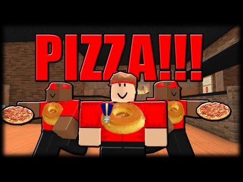 Jogando Roblox - Pizzas da Loucura!