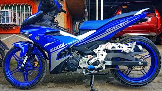 Video My New Yamaha Sniper 150 fi Race Blue 2018 ! MP3, 3GP, MP4, WEBM, AVI, FLV Desember 2018