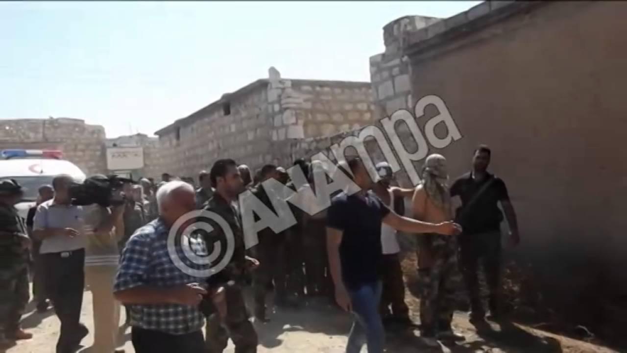 Ανθρωπιστική βοήθεια στο Χαλέπι