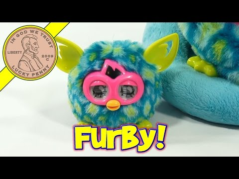 furby - Get This Item From the Lucky Penny Shop! http://luckypennyshop.com/furby-furbling-peacock-hasbro/ Watch all our Furby videos: http://www.youtube.com/playlist...