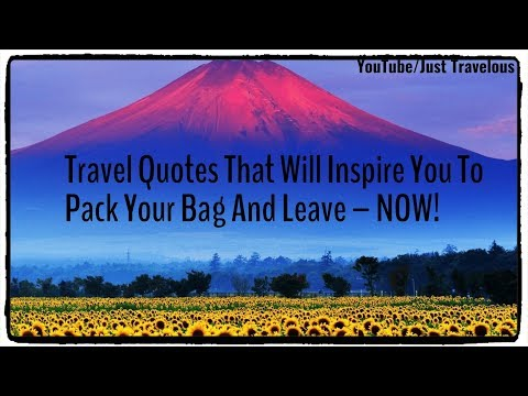 Short quotes - My Favorite Short And Unique Travel Quotes And Sayings ; Collection Part - 1