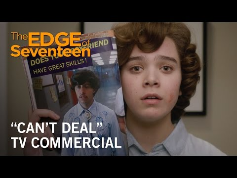 The Edge of Seventeen (TV Spot 'Can't Deal')