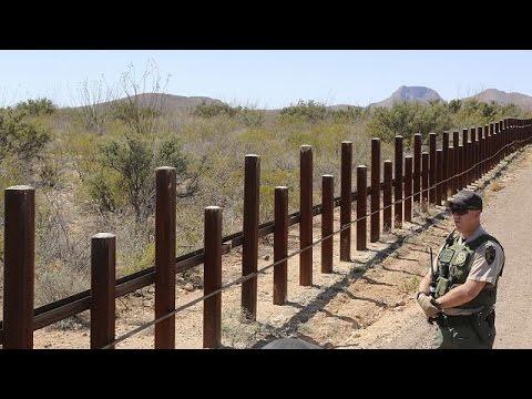 Ν.Τραμπ: «Άμμεσα ο σχεδιασμός για το τείχος στα σύνορα με το Μεξικό»