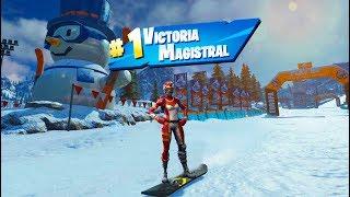 **TEMPORADA 7** SNOWBOARD Y NUEVAS SKINS! FORTNITE: Battle Royale