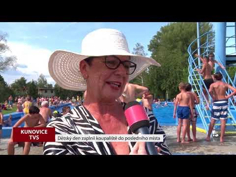 TVS: Kunovice - Den dětí na koupališti