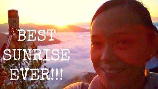 Sagada Philippines  city pictures gallery : THE BEST SUNRISE WE'VE EVER SEEN (Kiltepan Sunrise, Sagada, Philippines)