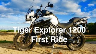 11. Triumph Tiger Explorer 2015 I First Rides I First Views