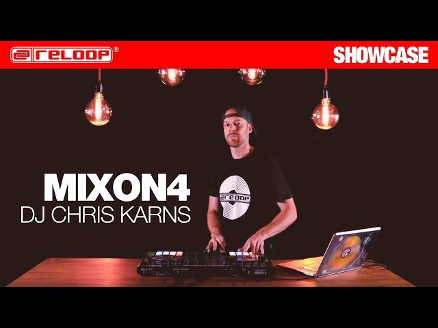 Chris Karns cue point juggling on Reloop MIXON 4