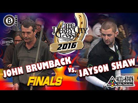 BANKS FINALS: John BRUMBACK vs. Jayson SHAW - 2016 DERBY CITY CLASSIC BANKS DIVISION
