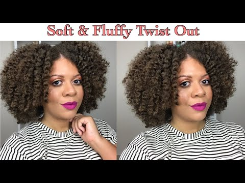 Herbal tea - Super Soft + Fluffy Twist Out using Camille Rose Naturals  Natural Hair Styles