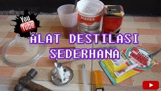 Karya Siswi SMKN 5 BEKASI- Alat Destilasi Sederhana