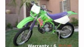 8. 2005 Kawasaki KDX 200 Specs and Details