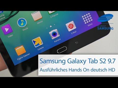 Samsung Galaxy Tab S2 9.7 Hands On deutsch HD