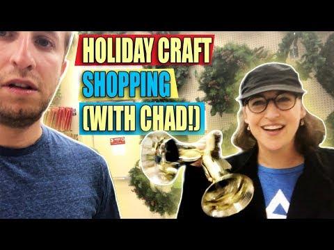 Holiday Craft Shopping (with Chad!) || Mayim Bialik