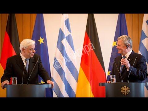 Το θέμα των επανορθώσεων έθεσε ο Πρ. Παυλόπουλος