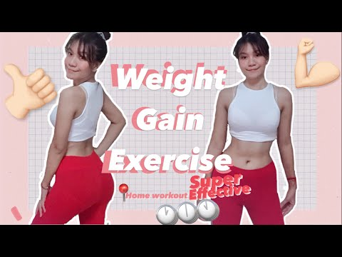 Weight gain exercise | Home workout