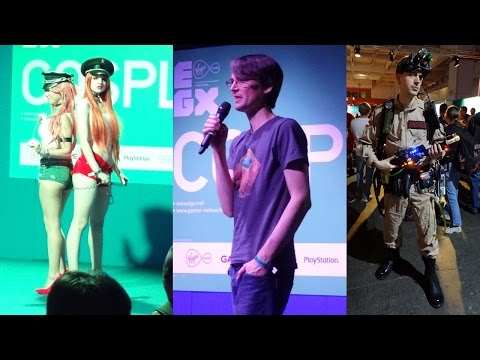 XRobots – EGX Eurogamer London 2014 Vlog, Electronics & 3D Printing Panels